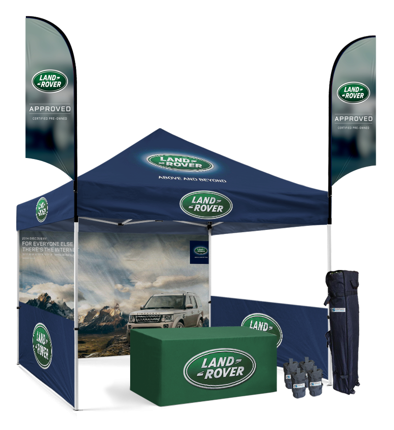 10x10 Custom Tent Packages