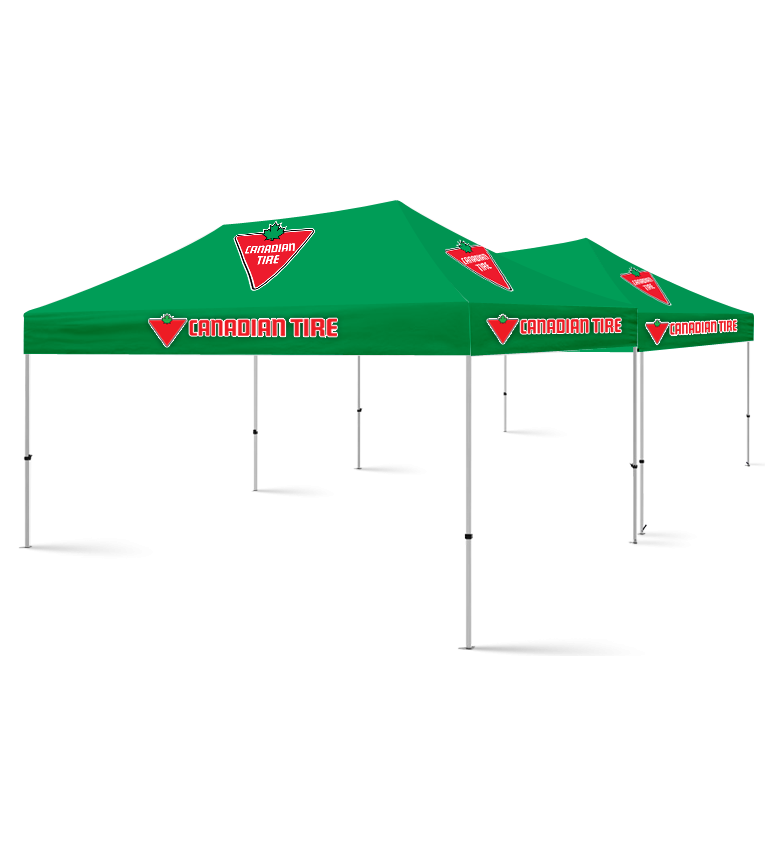 20x20 Custom Tent Packages