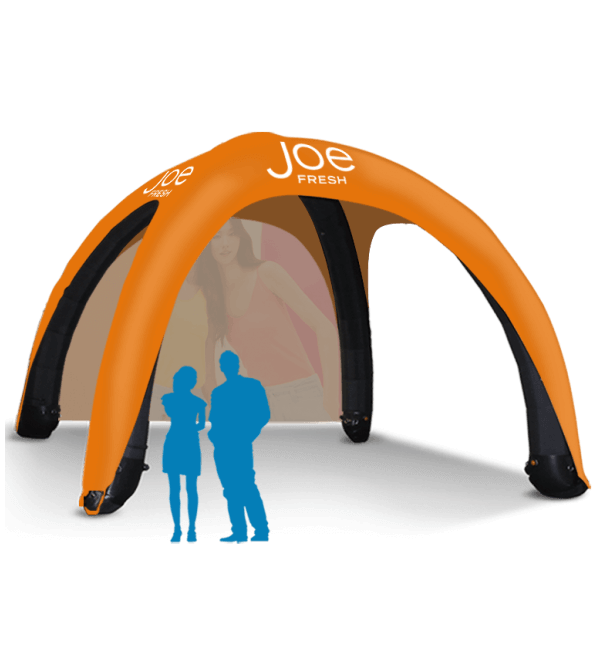 20x20 Inflatable Tent Packages