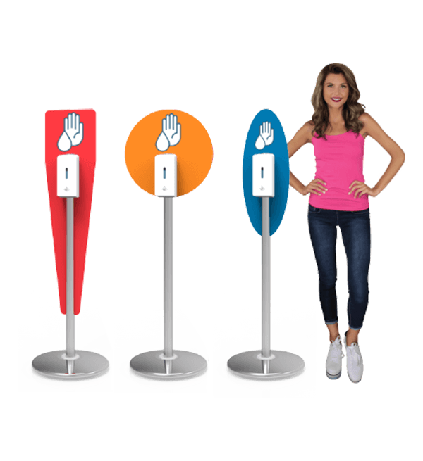 Hand Sanitizing Stands & Stations