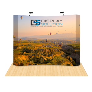 Graphics Replacement (Curved Fabric Pop Up Booths)