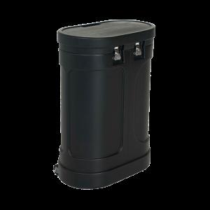 WC-401 Heavy Duty Wheeled Case (Oval)
