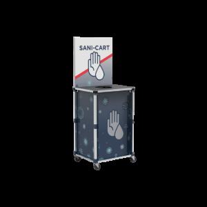 Popup Sani-Cart