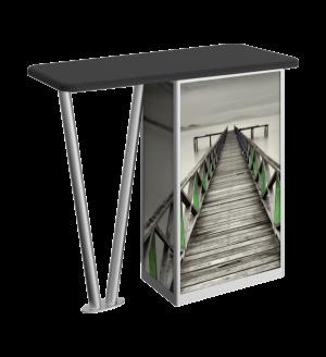 Linear V-leg Counter