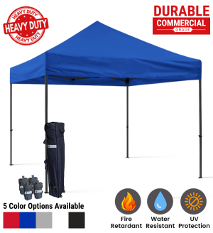 10x10 Blank Pop Up Canopy Tent