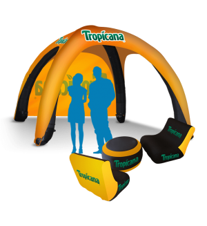 Inflatable Event Tents with Air Chairs