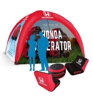10x10 custom spider dome tent