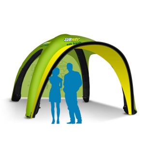 10x10 Inflatable Tent Package #4