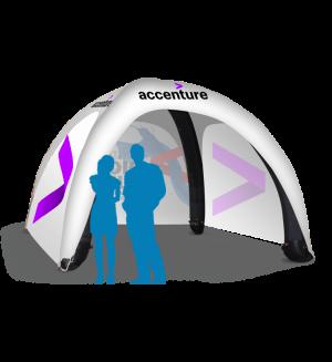 Advertising Spider Tent