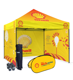 logo canopy tent
