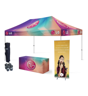 10x15 Custom Tent Packages #13