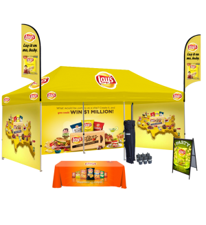10x20 Custom Tent Packages #7A