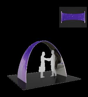 Premium 10ft Arch 02 Tension Fabric Structure