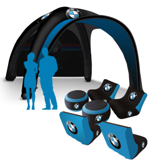 13x13 Inflatable Tent Package #14