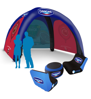 13x13 Inflatable Tent Dimension