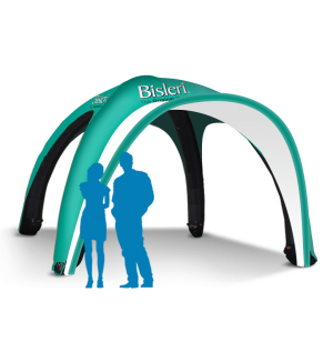 13x13 Inflatable Tent Package #2