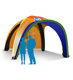 13x13 Inflatable Tent Package #4
