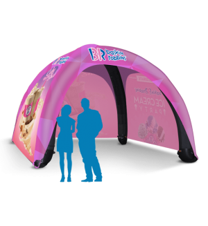 13x13 Inflatable Tent Package #7