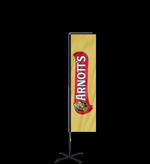 6ft Custom Rectangle Flag
