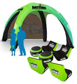 17x17 Inflatable Tent Package #13