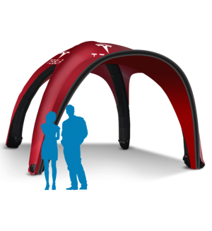 17x17 Inflatable Tent Package #2