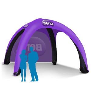 17x17 Inflatable Tent Package #3