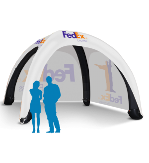 17x17 Inflatable Tent Package #5