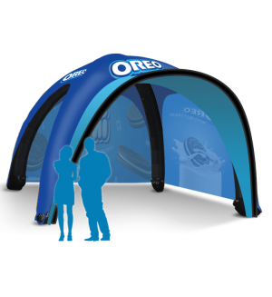 17x17 Inflatable Tent Package #6