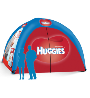 17x17 Inflatable Tent Package #9