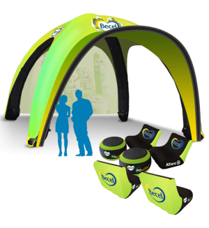 20x20 Inflatable Tent Package #14