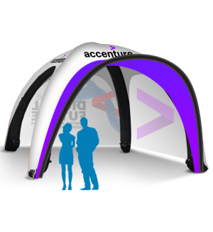 20x20 Inflatable Tent Package #6