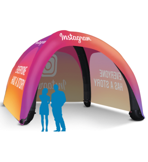 20x20 Inflatable Tent Package #7