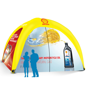 20x20 Inflatable Tent Package #9