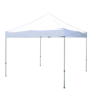10ftx10ft Pop-Up Canopy  Tent-White
