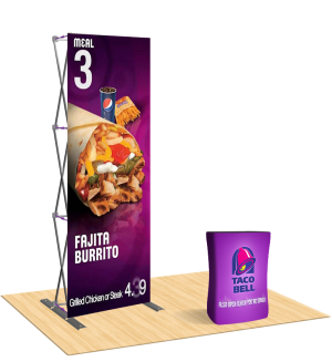 Compact 2.5ft Straight Display