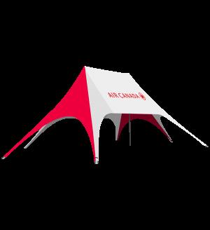 Double Peak Star Tent  – 54ft x 34ft