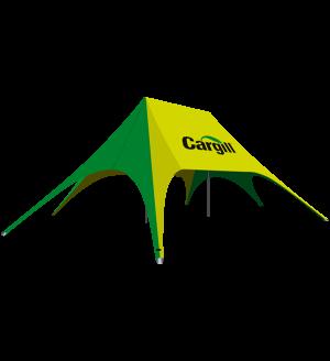 Double Peak Star Tent  – 62ft x 39ft