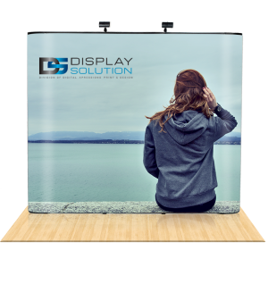 Graphics Replacement (Straight Pop Up Display Booths)