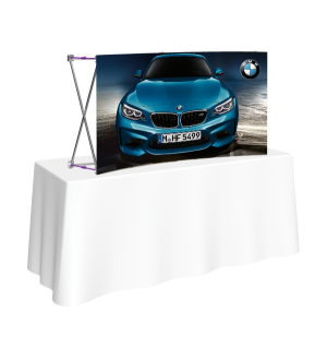Tabletop Tension Fabric Display (Curved)