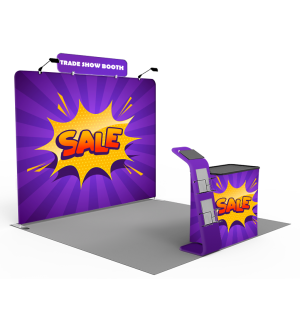 Lightweight Booth Package - 20