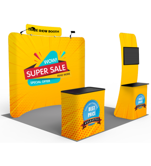 Lightweight Booth Package - 4