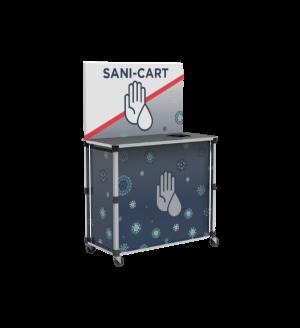 Popup Sani-Cart Large