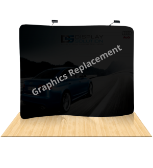 Graphics Replacement (Serpentine Tension Fabric Displays)