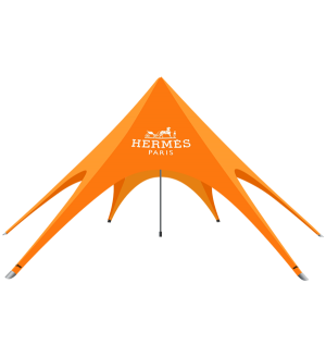Single Peak Star Tent  – 39ft