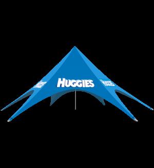 Single Peak Star Tent  – 46ft