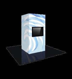 Modular Backlit Monitor Tower